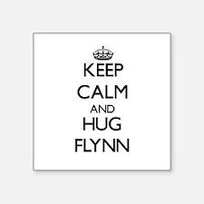 Keep calm and Hug Flynn Sticker