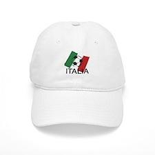 Italia Italy Football Soccer ball Baseball Cap