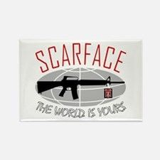 Scarface: The World Is Yours Magnets