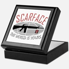 Scarface: The World Is Yours Keepsake Box