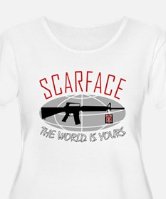 Scarface: The World Is Yours Plus Size T-Shirt