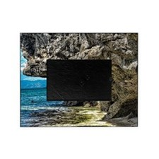 Beach Big Rock Picture Frame