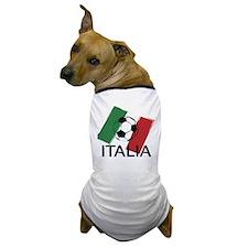 Italia Italy Football Soccer ball Dog T-Shirt