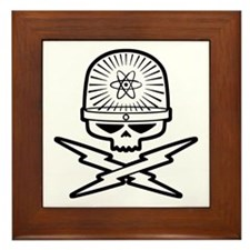 Atomic Pirate Framed Tile