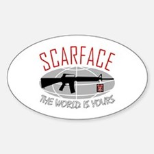 Scarface: The World Is Yours Decal