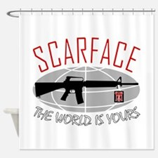 Scarface: The World Is Yours Shower Curtain