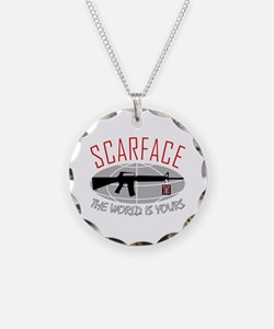 Scarface: The World Is Yours Necklace
