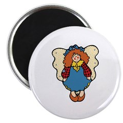 Country Angel Doll Design Magnet
