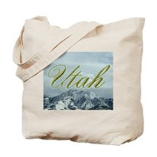 Utah Mountain Souvenir Tote Bag