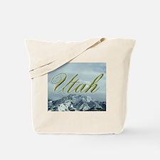 Utah Mountain Souvenir Tote Bag