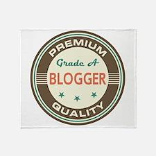 Blogger Vintage Throw Blanket