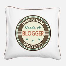 Blogger Vintage Square Canvas Pillow
