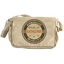 Biathloner Vintage Messenger Bag
