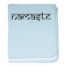 Namaste Yoga Ohm-01-01 baby blanket