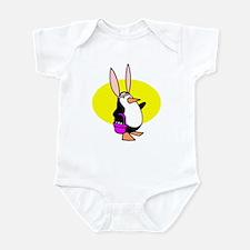 Easter Bunny Penguin Infant Bodysuit
