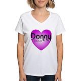 Donnie osmond Womens V-Neck T-shirts