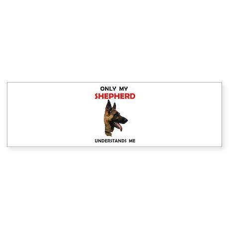 MY SHEPHERD Bumper Sticker
