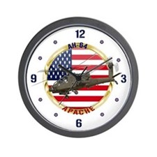 AH-64 Apache Wall Clock