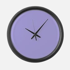 Periwinkle Large Wall Clock