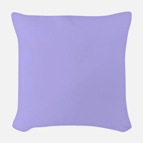 Periwinkle Woven Throw Pillow