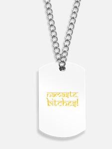 Ohm Indian Design Dog Tags