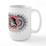 Obey the shih tzu mug Large Mugs (15 oz)