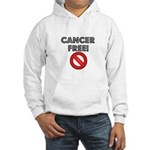 Cancer Free Hooded Sweatshirt