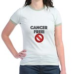 Cancer Free Jr. Ringer T-Shirt