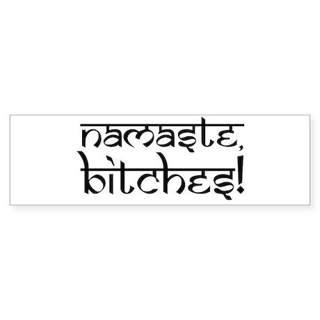 Ohm Indian Design Bumper Sticker