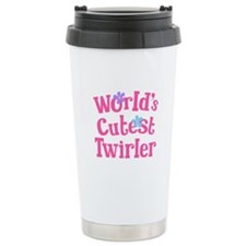 Worlds Cutest Twirler Travel Mug