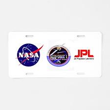 Deep Space 1 Aluminum License Plate