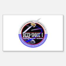 Deep Space 1 Sticker (Rectangle)