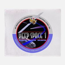 Deep Space 1 Throw Blanket