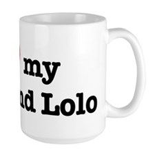 I Love my Lola and Lolo Mugs
