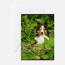 Peekaboo Christmas Greeting Cards