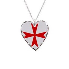 512px-Maltese_Cross_variant_r Necklace