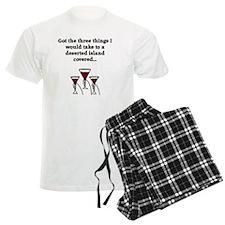 Deserted Island and Wine Pajamas