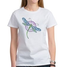 Whimsical Dragonfly Tee