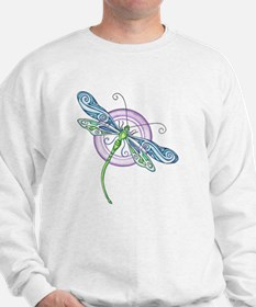 Whimsical Dragonfly Sweater