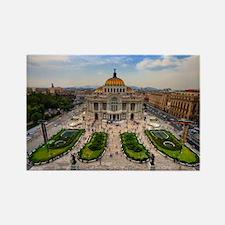 Palacio de Bellas Artes landscape Rectangle Magnet