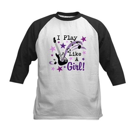 I Play Like A Girl Baseball Jersey