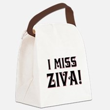 I MISS ZIVA Canvas Lunch Bag