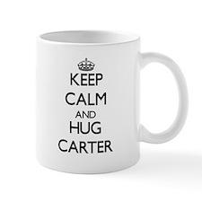 Keep calm and Hug Carter Mugs