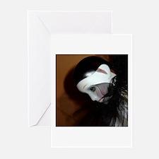 """Pierrot n1"" Greeting Cards (Pk of 10)"