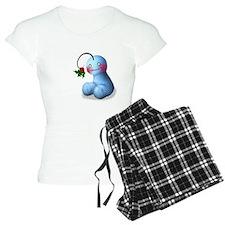 Women's Mistletoe Pajamas