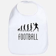 Football Quarterback Evolution Bib