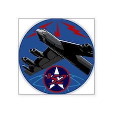 """B-52 Stratofortress Square Sticker 3"""" x 3"""""""