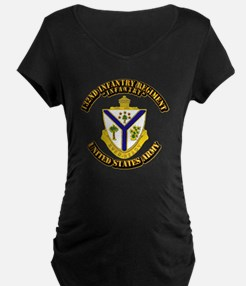 DUI - 132nd Infantry Regiment with Text T-Shirt