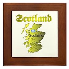 Scotland (1) Framed Tile