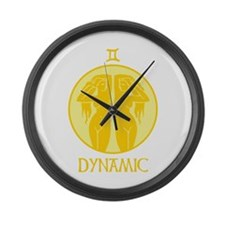 DYNAMIC Large Wall Clock